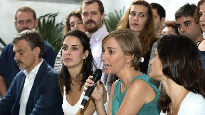 Rita Maestre y Tania Sánchez: «Se acabó el monopolio político masculino en Podemos»