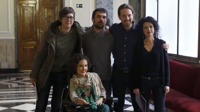 Ramón Espinar presenta su candidatura para las primarias de Podemos en Madrid