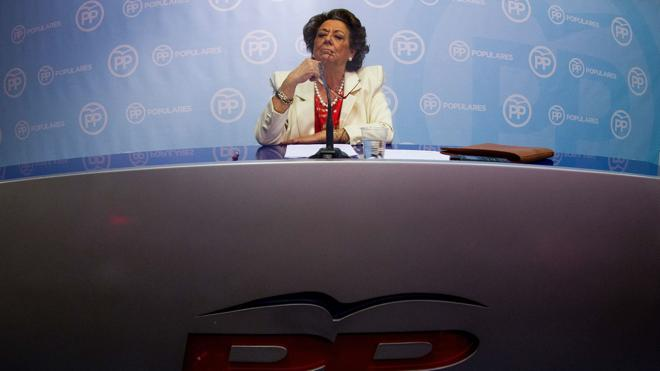 El Supremo abre causa a Rita Barberá por presunto blanqueo de capitales