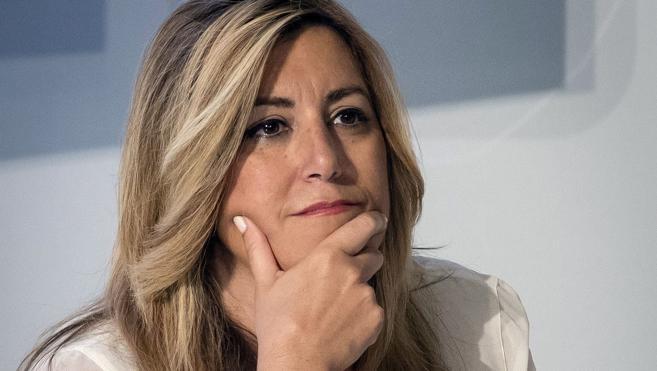 Susana Díaz insiste en reclamar el paso atrás de Rajoy tras los casos de Barberá y Soria