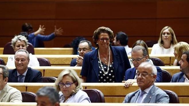Barberá renuncia a ejercer de portavoz del Grupo Mixto en el Senado