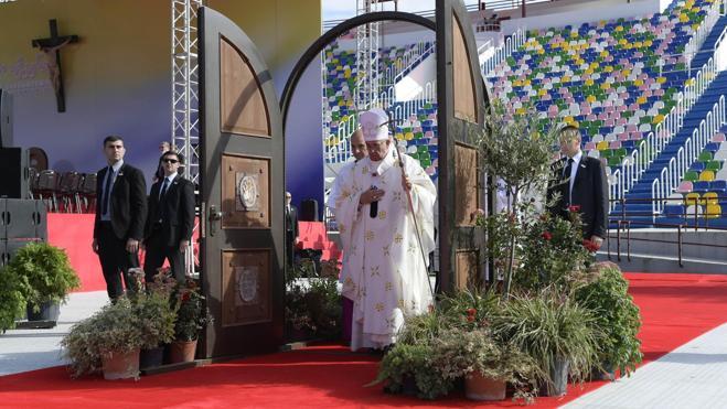 El Papa en Georgia: «La Iglesia es la casa del consuelo»
