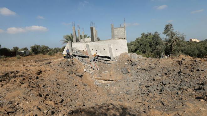 Israel bombardea posiciones en Gaza tras segundo cohete en dos días