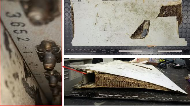 Uno de los restos hallados en la isla de Mauricio es del avión de Malaysia Airlines
