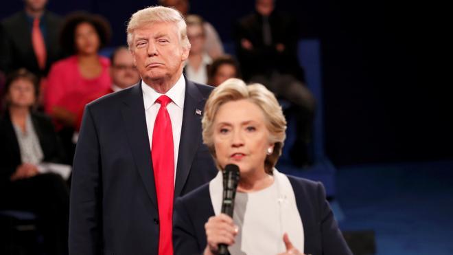 Trump recupera el paso en el segundo debate