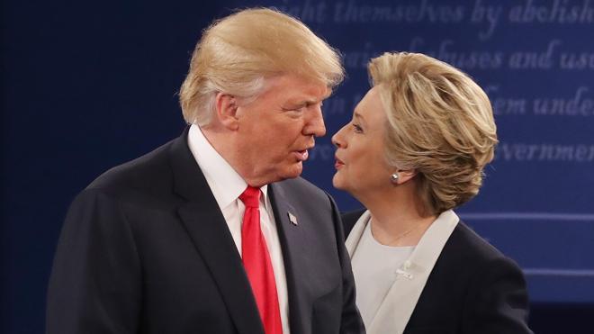 Las mejores frases del segundo debate presidencial en EE UU