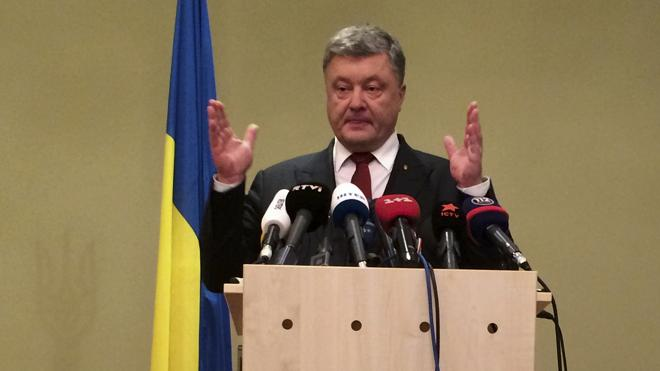 Poroshenko anuncia una hoja de ruta para Ucrania