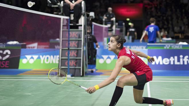 Carolina Marín culmina una remontada épica para acceder a semifinales