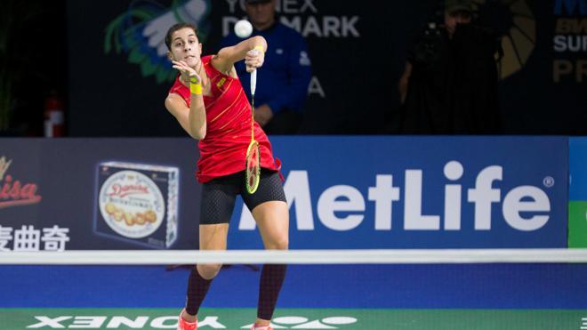 Carolina Marín cae en semifinales