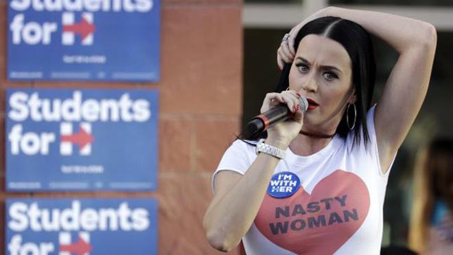 ¿Qué famosas hacen campaña por Hillary Clinton?
