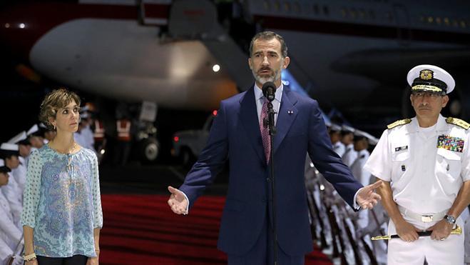 Felipe VI desea éxito a la Cumbre Iberoamericana
