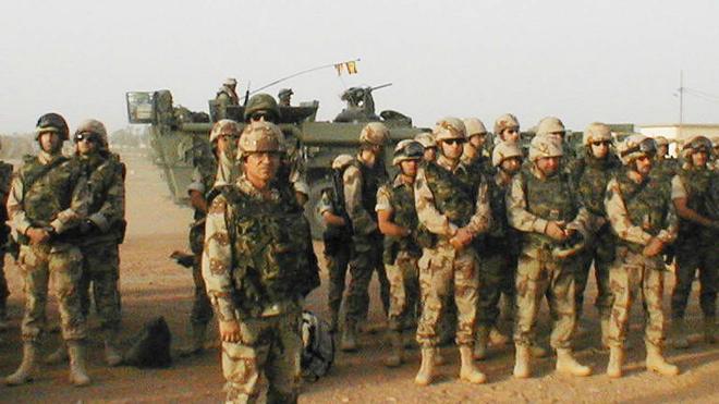 La segunda rotación del nuevo contingente español parte hacia Irak
