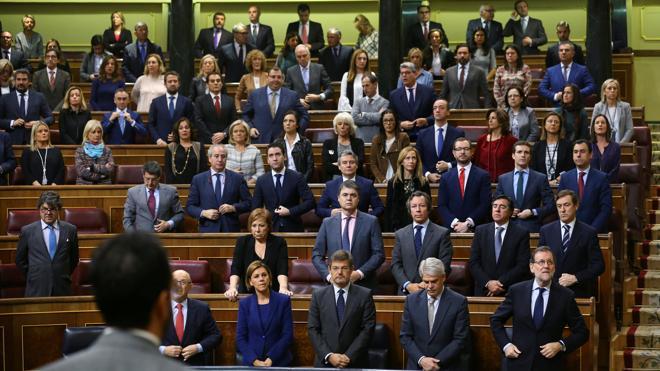 Podemos se ausenta del minuto de silencio por Rita Barberá en el Congreso