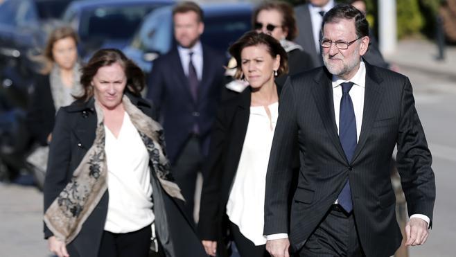 Rajoy: «Fue un honor ser amigo de Rita Barberá»