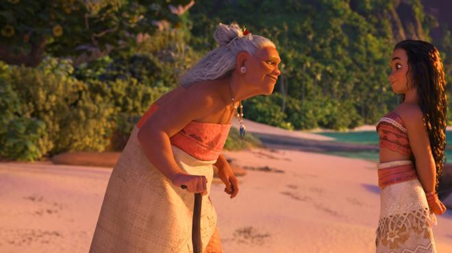 'Vaiana' y Amy Adams compiten por el trono en la cartelera de cine
