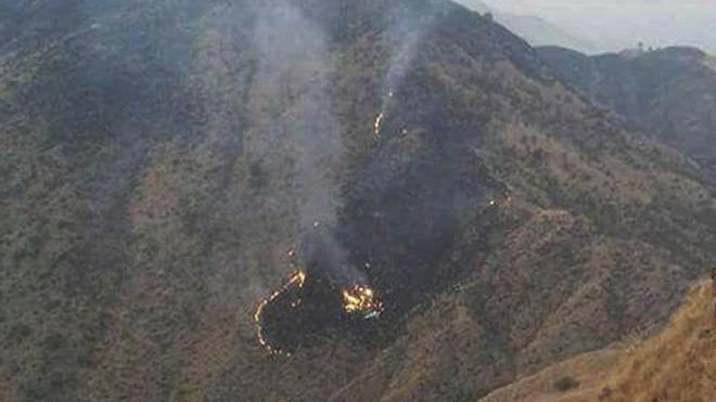 Se estrella un avión en Pakistán, ningún superviviente