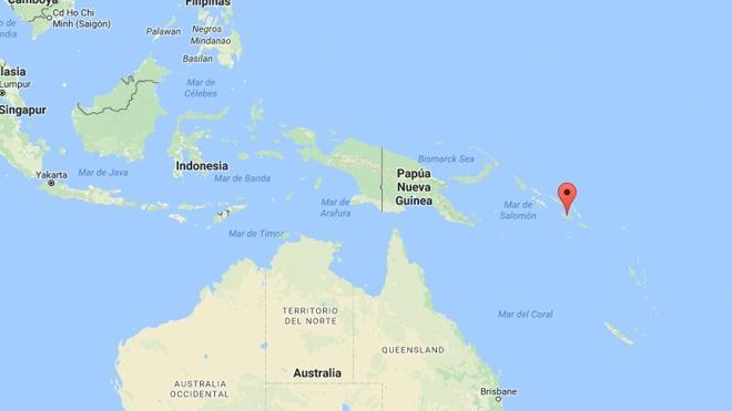 Desactivan la alerta de tsunami tras un terremoto de 7,7 grados en las Islas Salomón