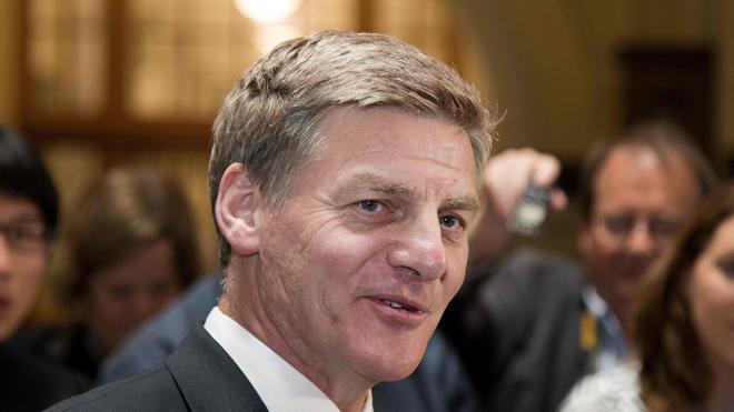 Bill English, elegido como primer ministro de Nueva Zelanda