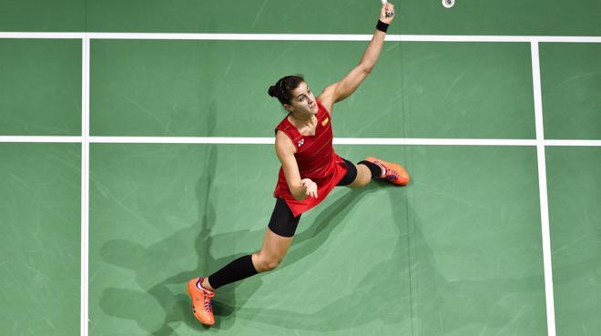 Carolina Marín se despide de Dubai con una nueva derrota