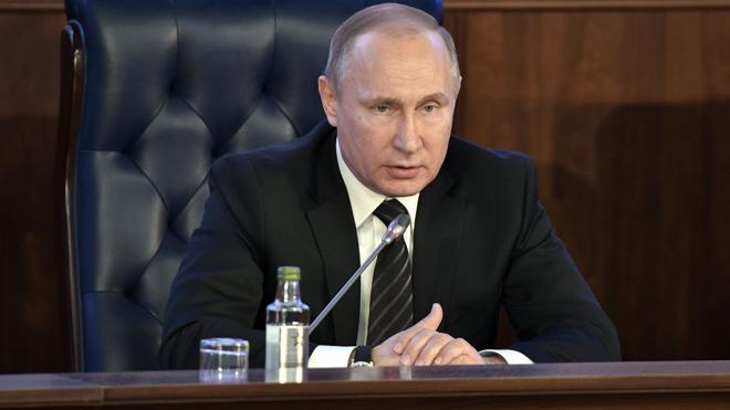 Putin, de jefe de guerra a pacificador