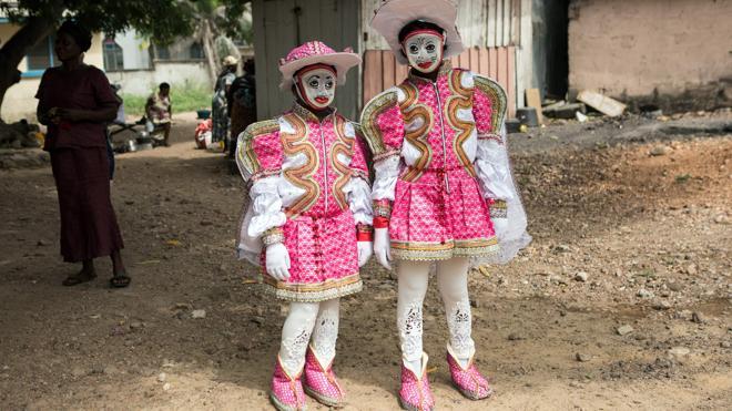 En Ghana, la pasión por el carnaval de Winneba es una herencia de generaciones
