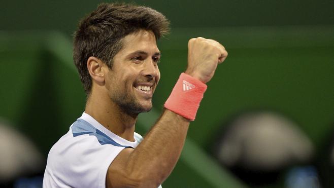 Verdasco sorprende a Karlovic y se cita con Djokovic en semifinales en Doha