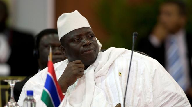 Jammeh accede a dejar el poder y abandonará Gambia