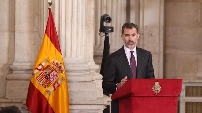Cervantes en Palacio