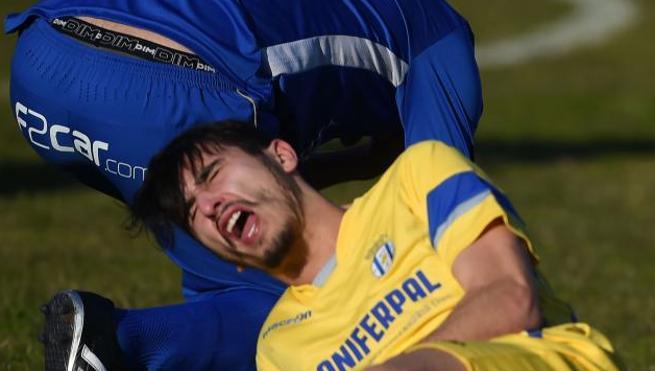 El Canelas provoca terror en el fútbol aficionado portugués