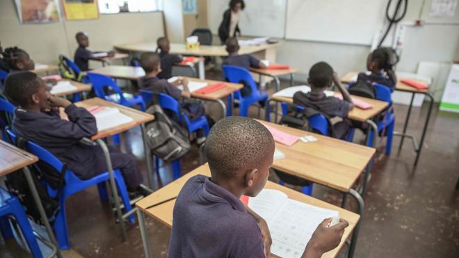 Una escuela sudafricana para los refugiados víctimas de xenofobia