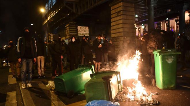 Disturbios en Francia en dos nuevas protestas contra la violencia policial