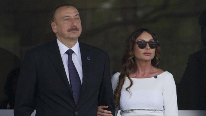 El presidente de Azerbaiyán nombra vicepresidenta a su esposa