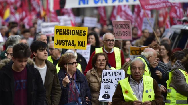Las Marchas de la Dignidad salen a las calles en defensa de las pensiones