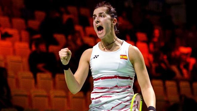 Carolina Marín se mete en la final del Abierto de Alemania