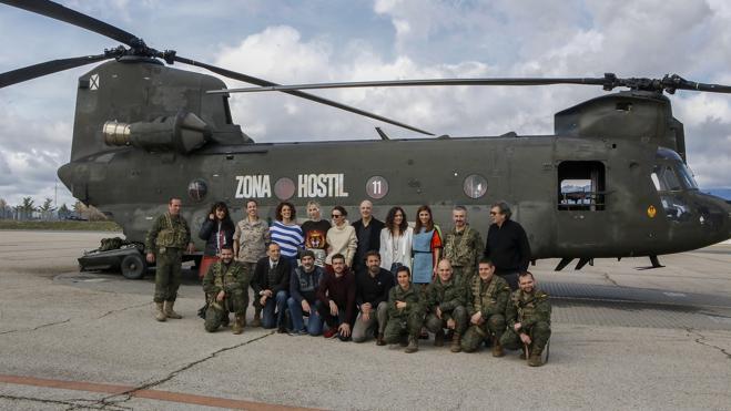 'Zona hostil' introduce de lleno al cine español en las guerras del siglo XXI