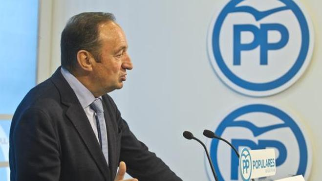 Pedro Sanz, presidente del PP de La Rioja desde hace 24 años, anuncia su retirada