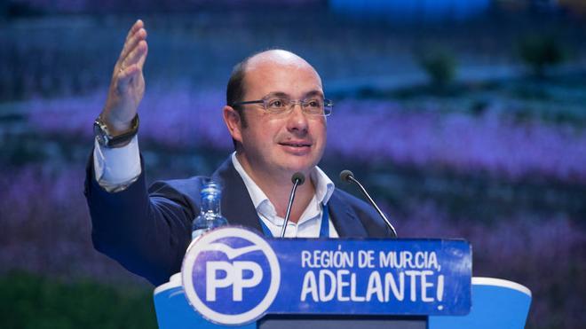 El PP de Murcia reelige a Pedro Antonio Sánchez con el 93% de los votos