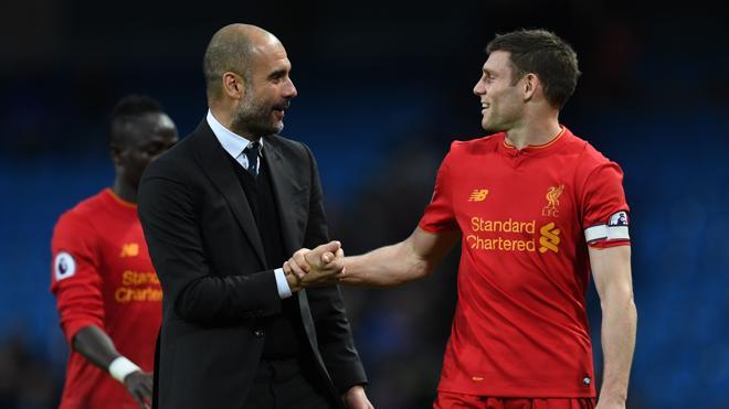 Manchester City y Liverpool firman tablas y se alejan del Tottenham