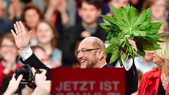 Los socialdemócratas alemanes eligen a Schulz para destronar a Merkel