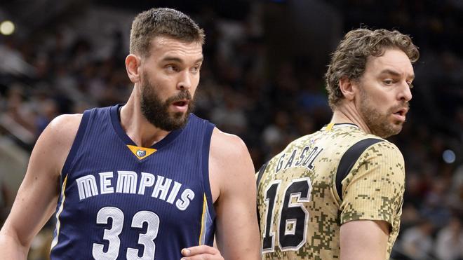Marc gana a Pau el duelo de los Gasol, pero Grizzlies cae ante Spurs