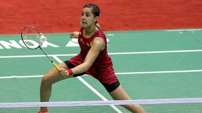 Carolina Marín pierde la final del Abierto de la India ante Sindhu