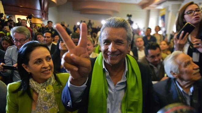Moreno se impone en las presidenciales de Ecuador con el 51,16% de los votos