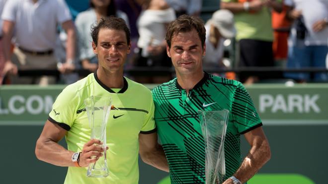Federer y Nadal regresan entre los cinco mejores