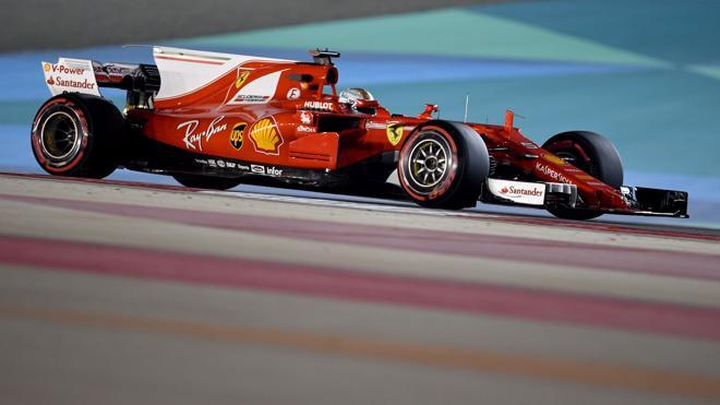 Vettel va con todo en Baréin