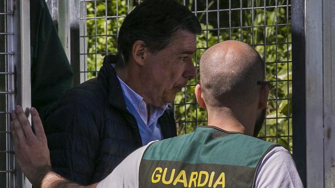 El juez decreta prisión incondicional para Ignacio González por el saqueo del Canal