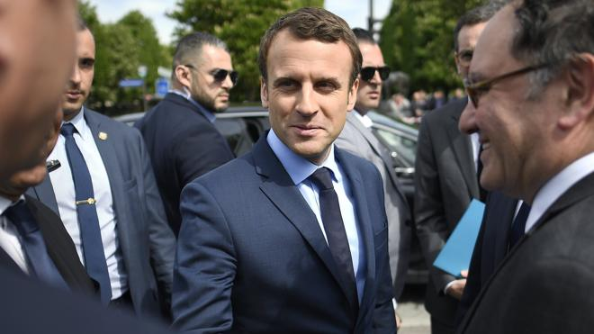 Los inversores dan por ganador a Macron