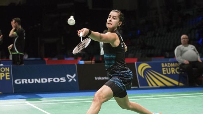 Carolina Marín accede sin problemas a semifinales