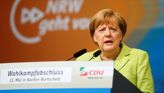La CDU de Merkel se impone en Renania del Norte, bastión socialdemócrata