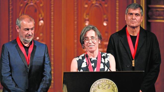 Los arquitectos españoles RCR reciben el Pritzker en Tokio