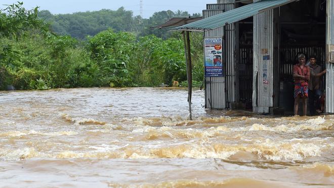 Más de un centenar de muertos por las lluvias en Sri Lanka
